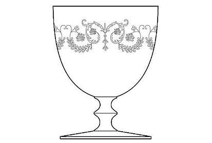 Service en cristal Baccarat Bourbon
