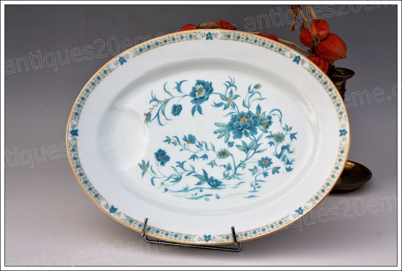 Plat ovale en porcelaine de Limoges Haviland Nankin, Limoges Haviland porcelain dish