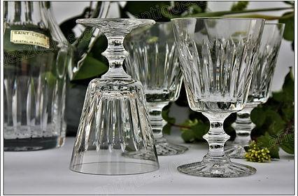 Verres service cristal Saint Louis Orléans
