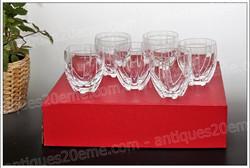 Verres à whisky cristal Baccarat Neptune