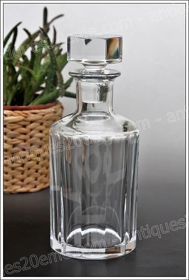 Carafe à whisky en cristal de Baccarat modèle service Monaco, Baccarat crystal whiskey decanter