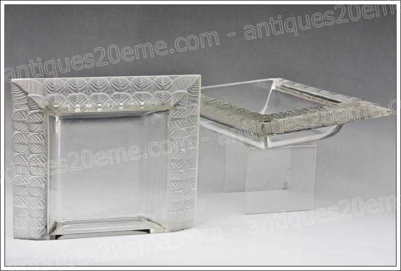 Centre de table de René Lalique modèle Charme