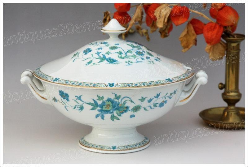 Soupière en porcelaine de Limoges Haviland Nankin, Limoges Haviland porcelain tureen