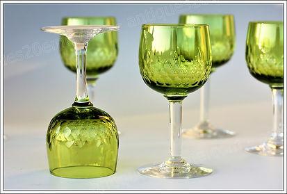 Service verres cristal Baccarat Richelieu