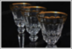 Verres service cristal St Louis Excellence