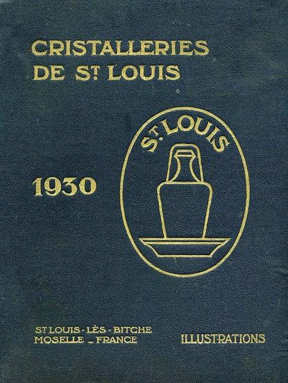 Catalogue des articles en cristal Saint-Louis St Louis crystal