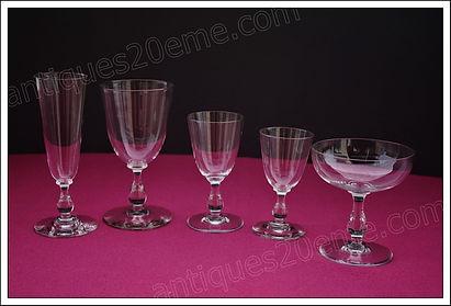 Service cristal Baccarat Gondole