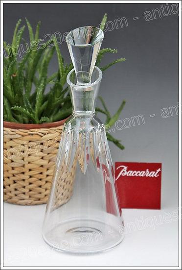 Carafe à vin en cristal de Baccarat modèle service Côte d'Azur, Baccarat crystal wine decanter