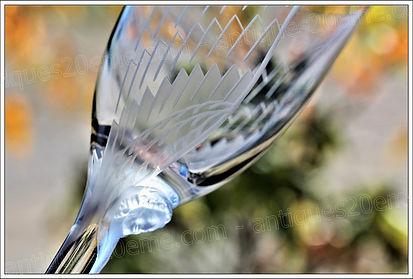 Service de verres en cristal Lalique Ange au sourire