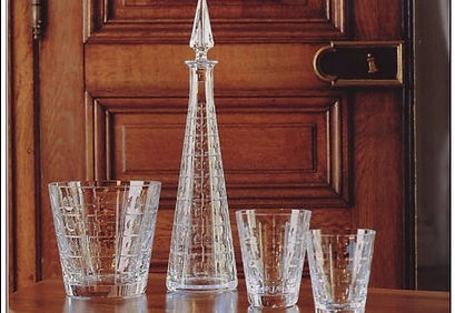 Servce verres cristal Baccarat Equinoxe