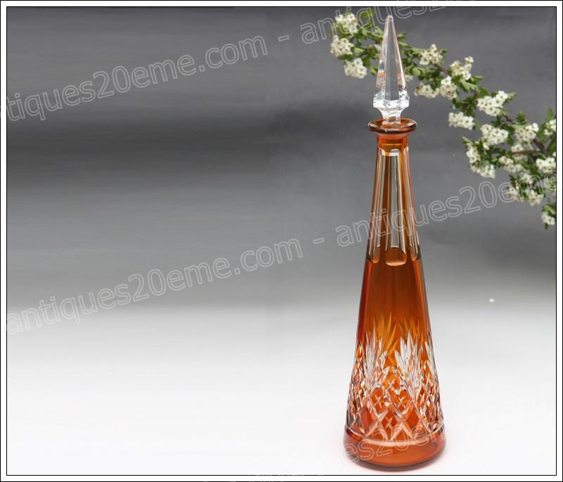 Carafe à vin cristal cristallerie de Nancy