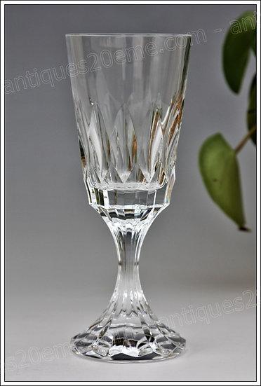 Verre à eau service en cristal Baccarat modèle service d'Assas, Baccarat crystal water glass
