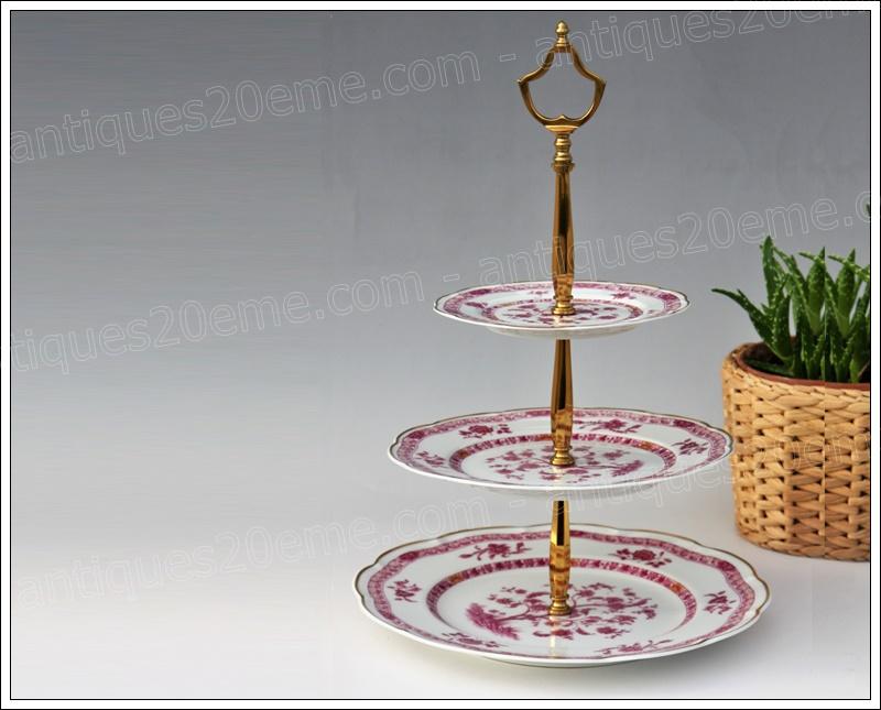 Porte-douceurs porcelaine Haviland Arbre Pourpre