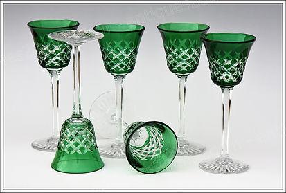 Verres cristal Baccarat Burgos