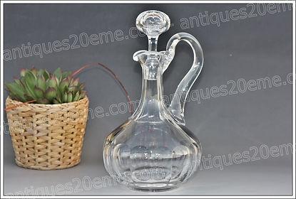 Carafes et décanteurs en cristal modèle service St Louis Chateaubriand