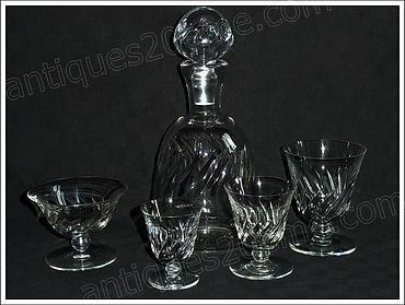 Service Baccarat Beauchene cristal