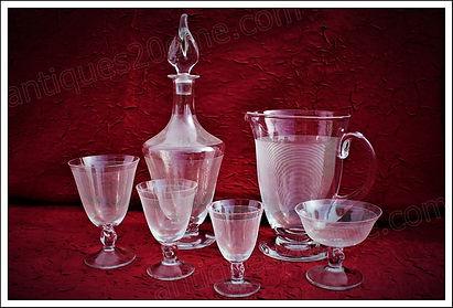 Service cristal Daum Orval