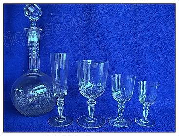 Service cristal Baccarat Nemours