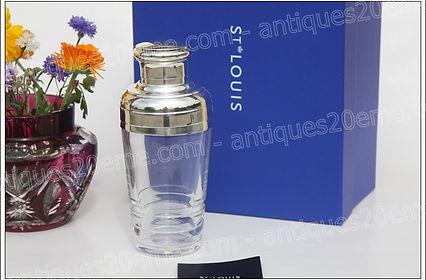 Verres et accesoires en cristal de St Louis modèle service Oxymore