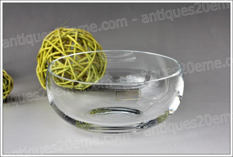 Coupelle en cristal de St Louis, St Louis crystal cup
