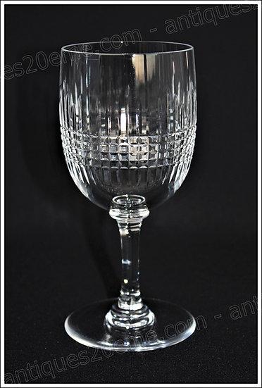 Verre en cristal du service Baccarat Nancy, Baccarat crystal water glass