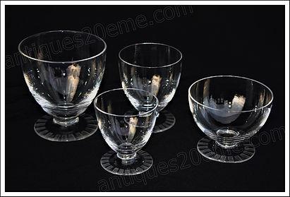 Service cristal Daum Berny