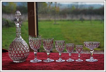 Service cristal Baccarat Juvisy