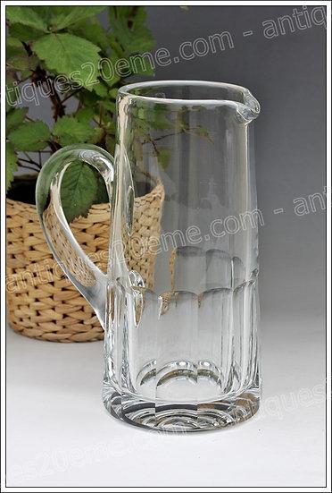 Pichet en cristal du service St Louis Caton, St louis crystal pitcher