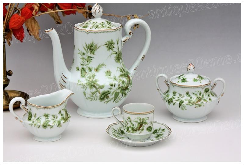 Service porcelaine Limoges Haviland
