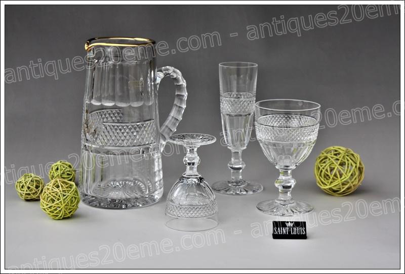 Pichet cristal St Louis Trianon