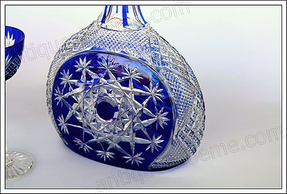 Service cristal Baccarat Mandarin Tsar