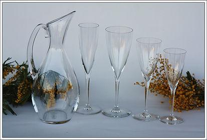 Service en cristal Baccarat Dom Perignon