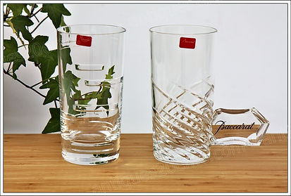 Service verres cristal Baccarat Intangible Arik Levy designer