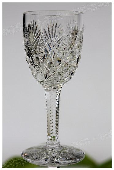 Verre à vin en cristal de St Louis modèle service Florence, St Louis crystal wine glass