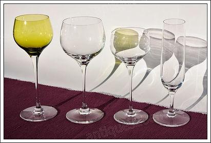 Verres service cristal St Louis Aurore