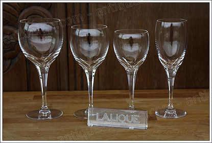 Service cristal Lalique Tuileries