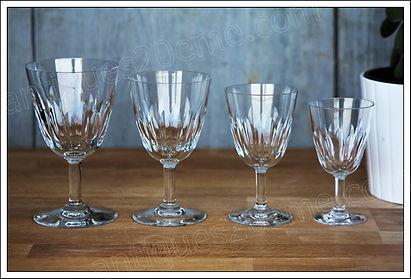 Service en cristal Baccarat Cassino