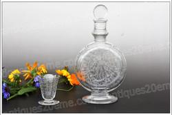 Baccarat Michelangelo crystal liquor cordial service