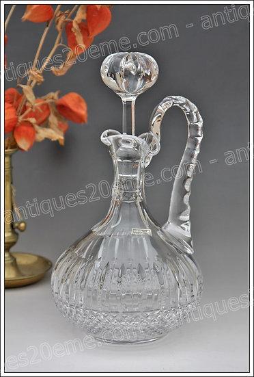 Broc decanteur en cristal de St Louis Tommy, St Louis crystal wine decanter