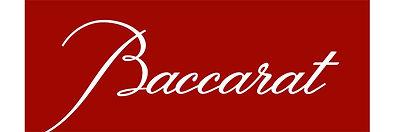 Vente verres services cristal Baccarat