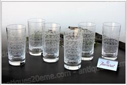 Chopes verres cristal Baccarat Rohan