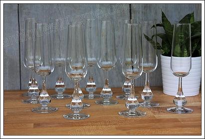 Service cristal Baccarat Pavot