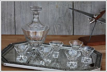 Service cristal Baccarat Saint-Hubert