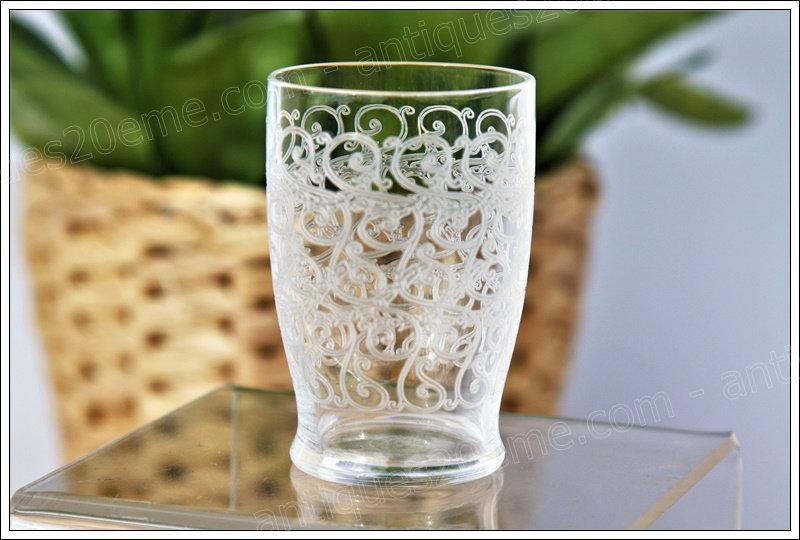 Verres à porto vin cuit en cristal de Baccarat Gouvieux, Baccarat crystal goblets glasses