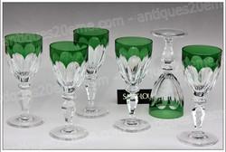 St.Louis Alexandre crystal glasses