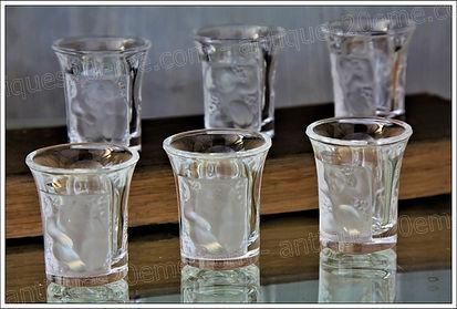 Service cristal Lalique Children