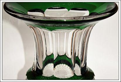 Vases et articles cristal Saint Louis Versailles
