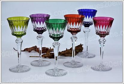 Service de verres en cristal Baccarat modèle service Buckingham