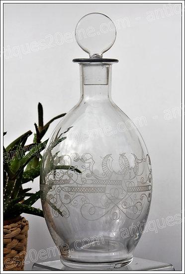 Carafe en cristal de Baccarat modèle service Champs-Elysées, Baccarat crystal decanter