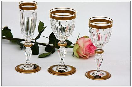 Verre service cristal St Louis Alexandre